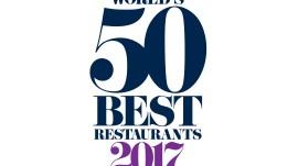 The World's 50 Best Restaurants 2017 logo horizontal